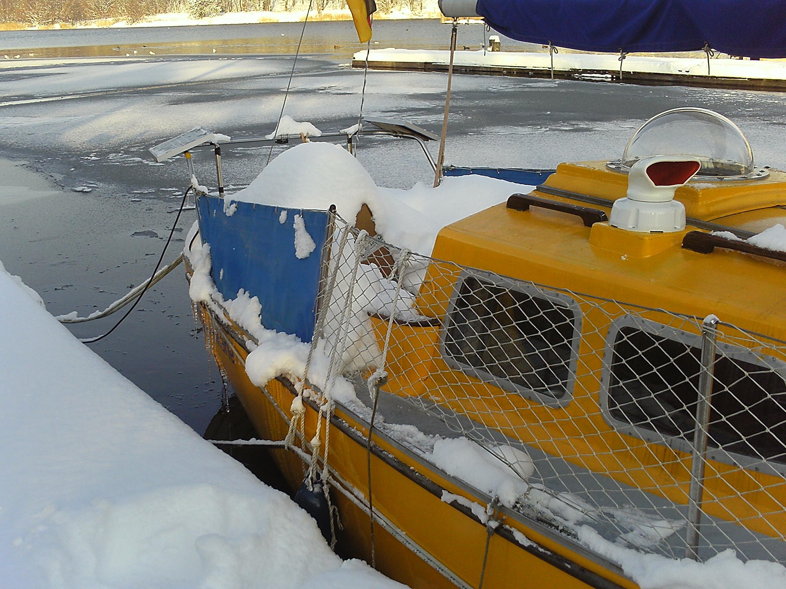 Candice-Marie trotzt dem Schnee